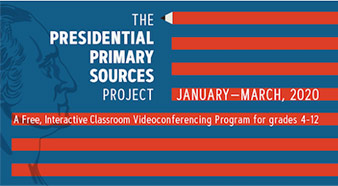 Presidential Primary Sources Project banner