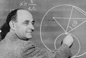 Photograph of Enrico Fermi