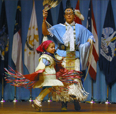 Native American Indian Heritage Celebration in Alexander Hall, at Fort Gordon, Georgia
