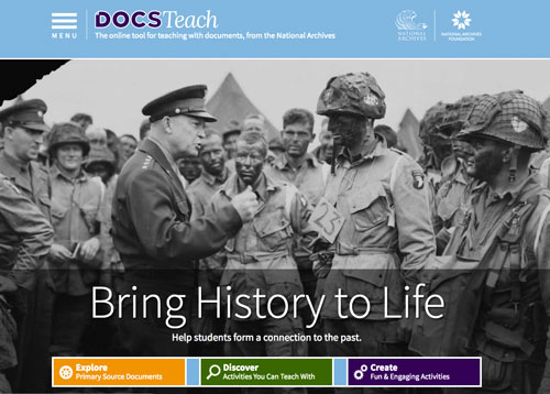 Educator Resources National Archives