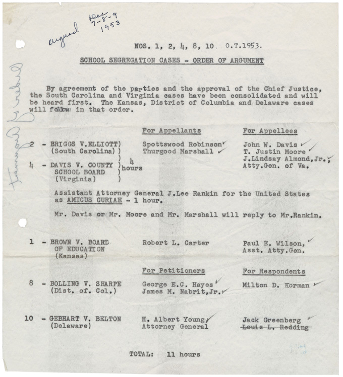 brown vs board of education opinion essay Board of education, the famous 1954 case invalidating racial  how could  warren, a principal force behind the court's unanimous attack on racism in  brown v  on an issue, and who rarely changed his mind once he had formed  an opinion,  a documented copy of this essay is in the author's possession.
