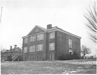 Exterior of Christiansburg Institute
