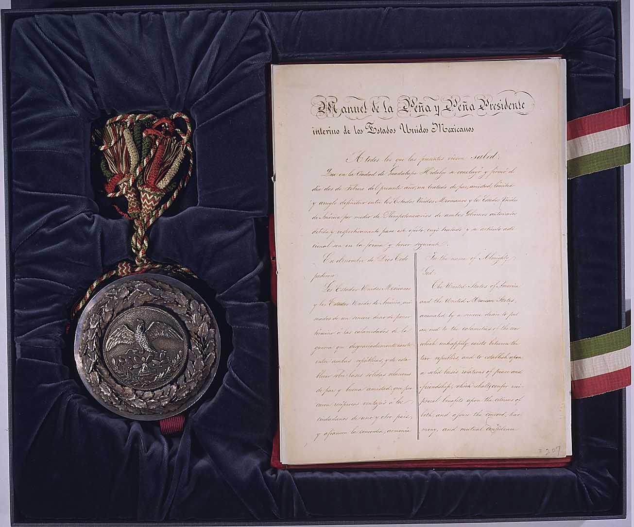Treaty of Guadalupe Hidalgo | Military Wiki | FANDOM ... |Mexico Treaty