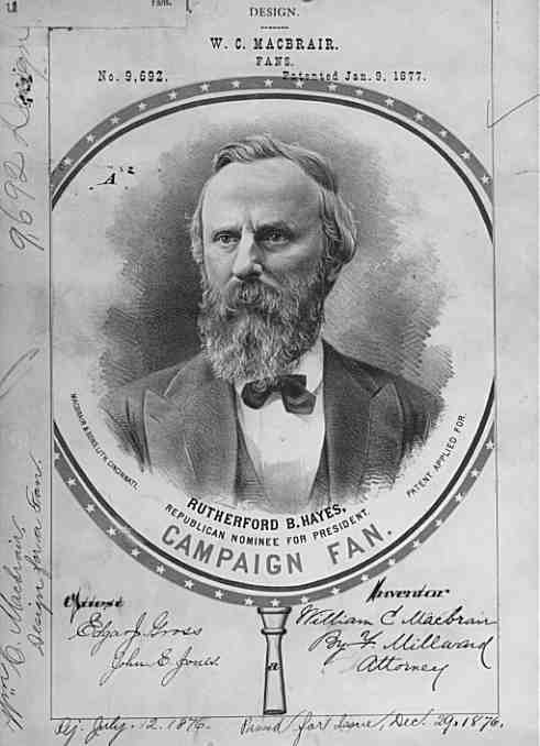 president rutherford b hayes inaugural address The diary and letters of rutherford b hayes, nineteenth president of the united  in his inaugural address, hayes attempted to soothe the passions of the past.
