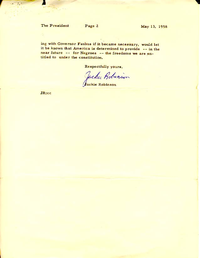 jackie robinson more than a baseball player archives gov education lessons jackie robinson images letter 1958 02 jpg