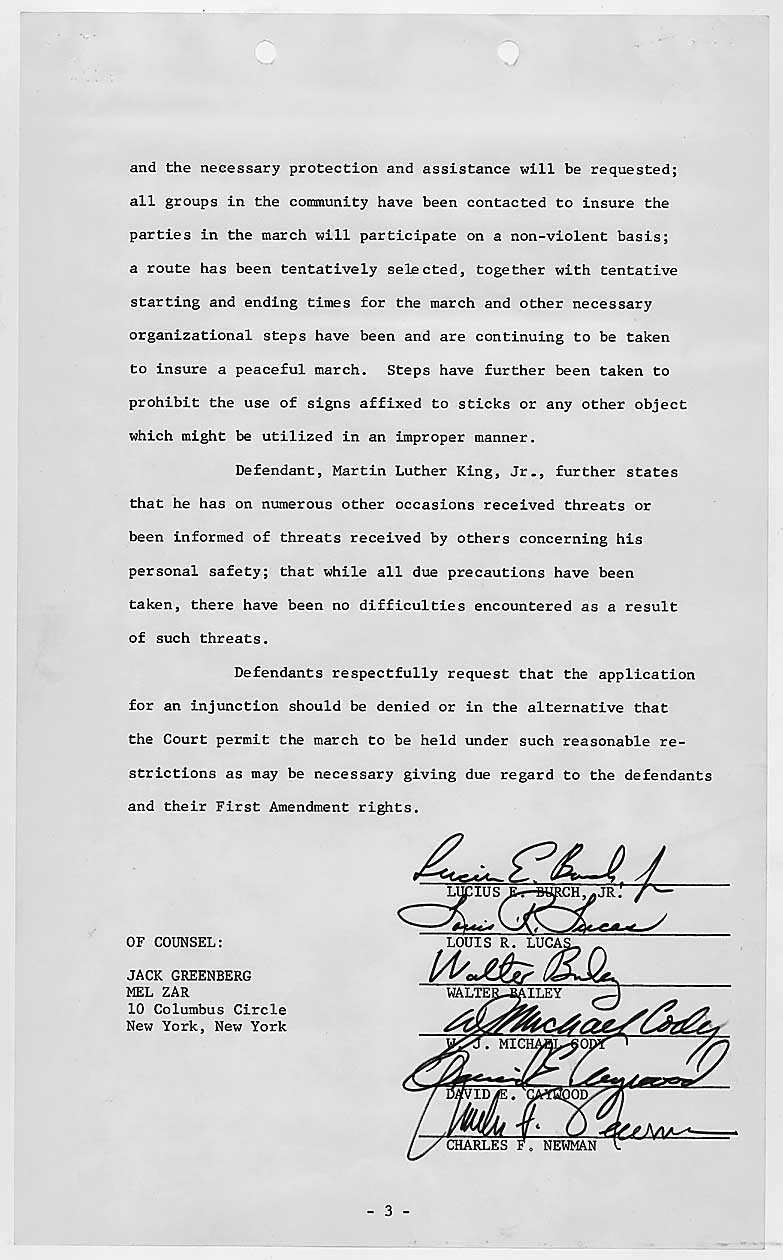 Martin Luther King Jr and Memphis Sanitation Workers – Written Document Analysis Worksheet Answers