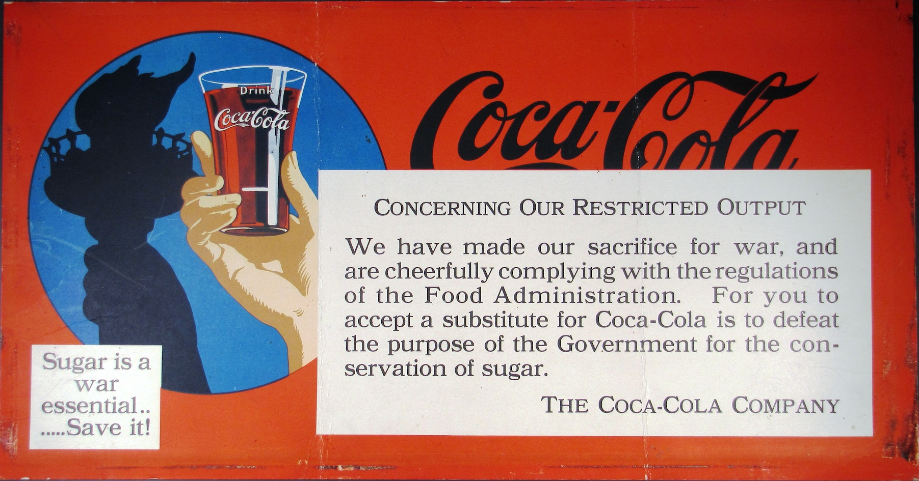 Coca-Cola War Announcement