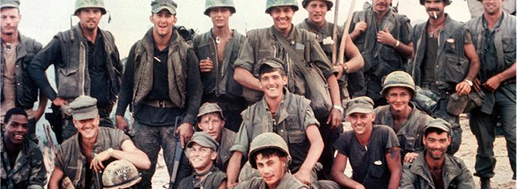 US soldiers in Vietnam