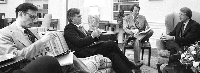 Stu Eizenstat and President Carter