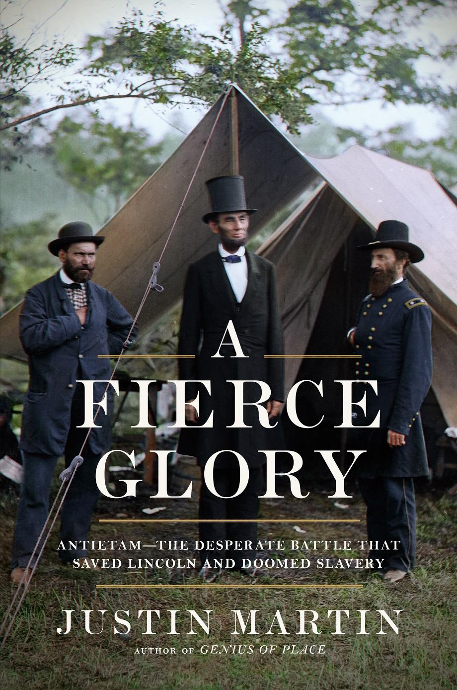 Book cover: A Fierce Glory