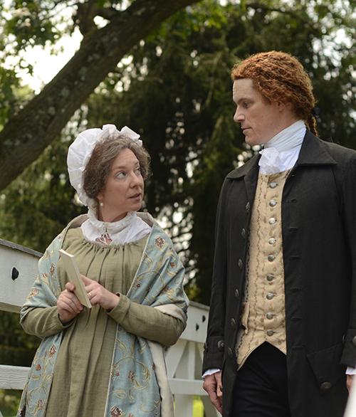 Abigail Adams and Thomas Jefferson