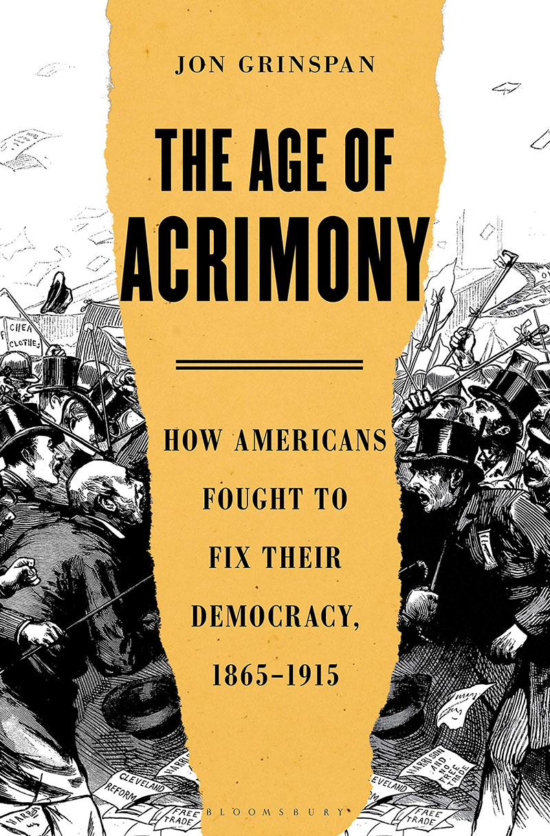 Book cover of the Age of Acrimony