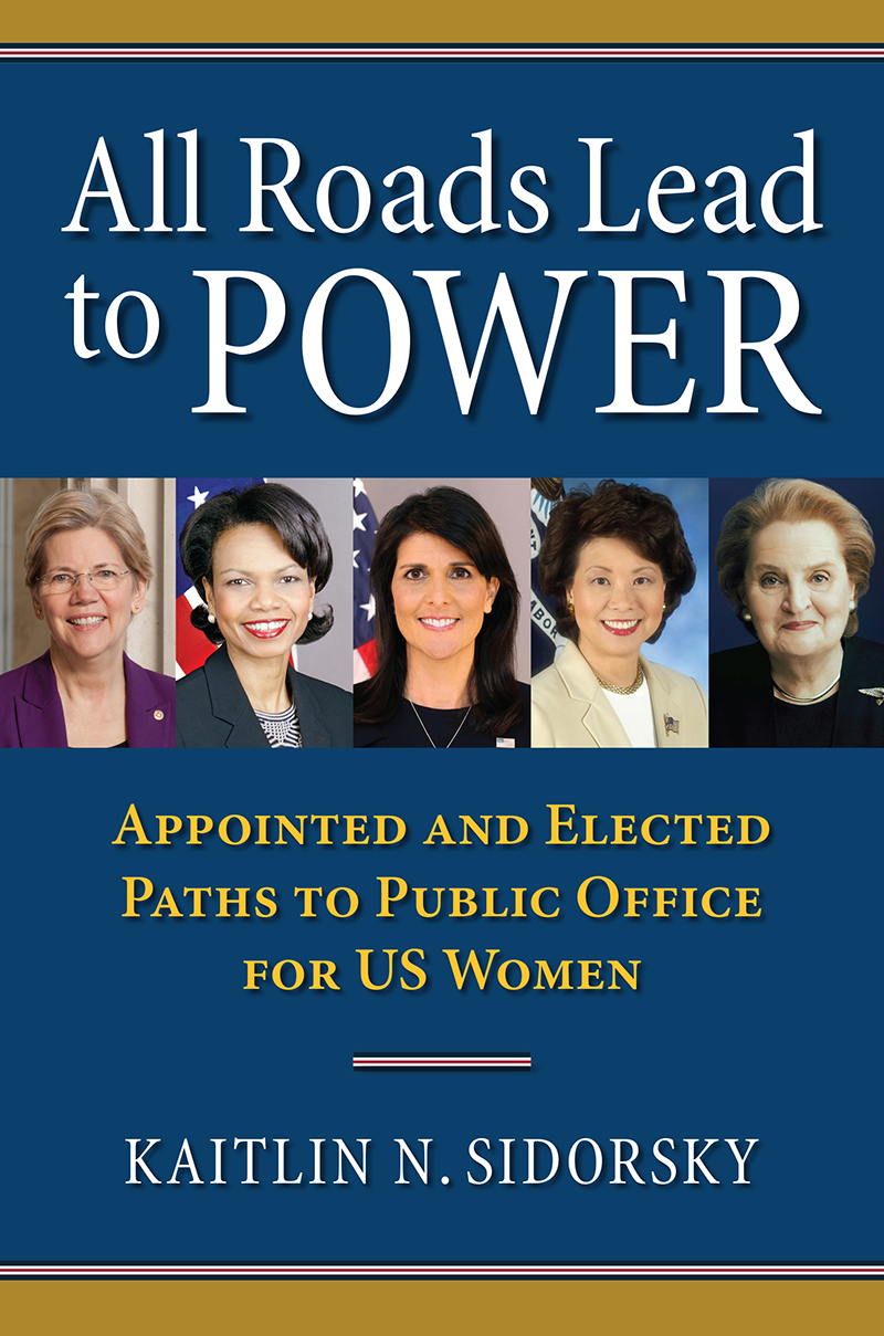 Book cover: All Roads Lead to Power