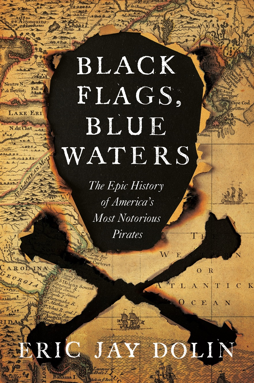 Book cover: Black Flags, Blue Waters