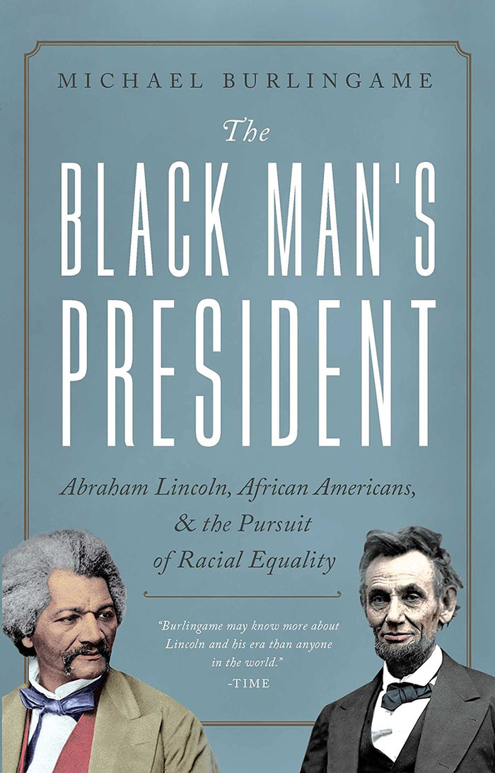 book cover of The Black Man's President