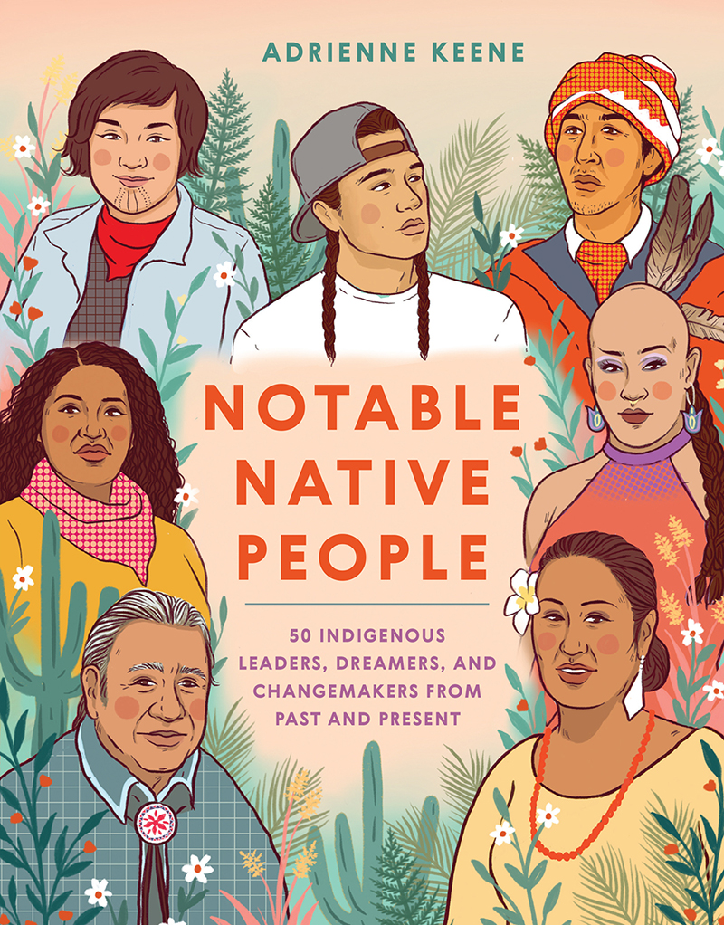Book cover - Notable Native People