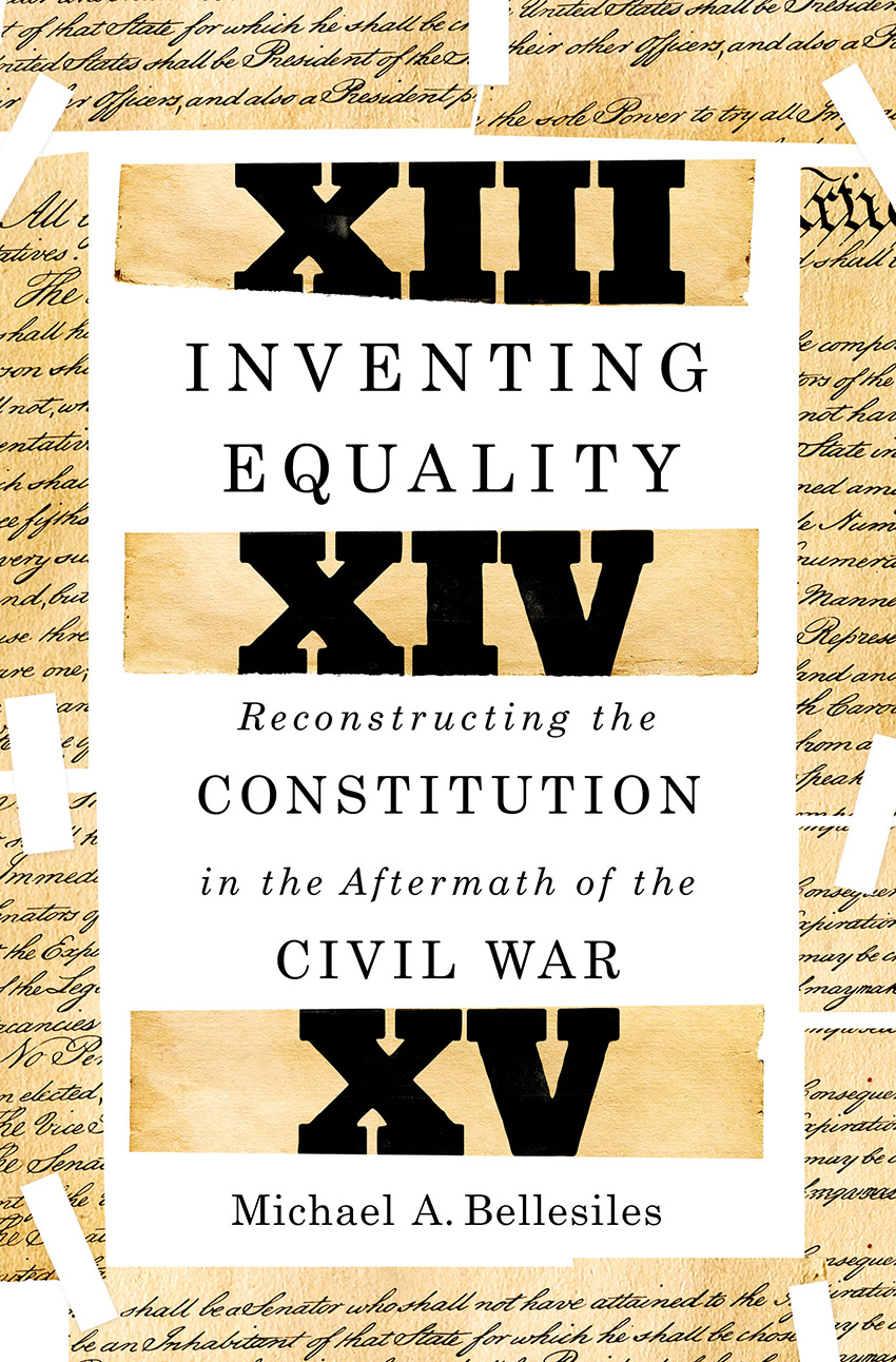 book cover of Inventing Equality