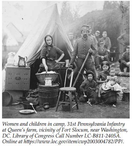 Civil War laundresses