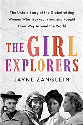 Book cover: The Girl Explorers