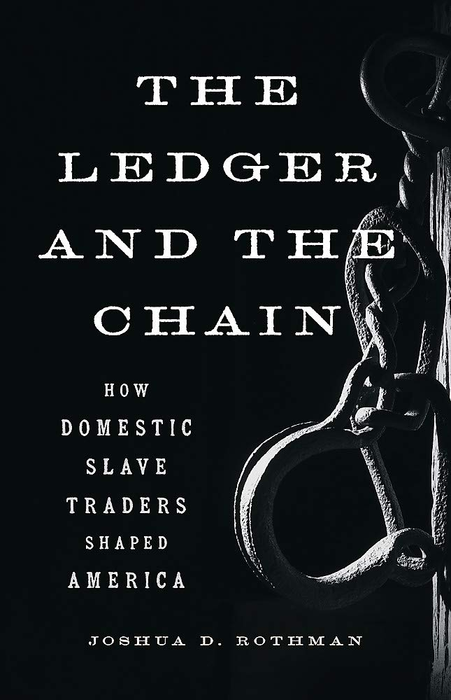 Book cover of The Ledger and the Chain