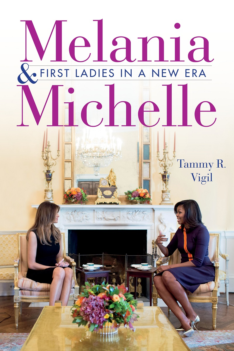 Book cover of Melania and Michelle