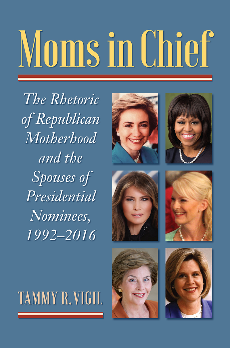 Book cover: Moms in Chief