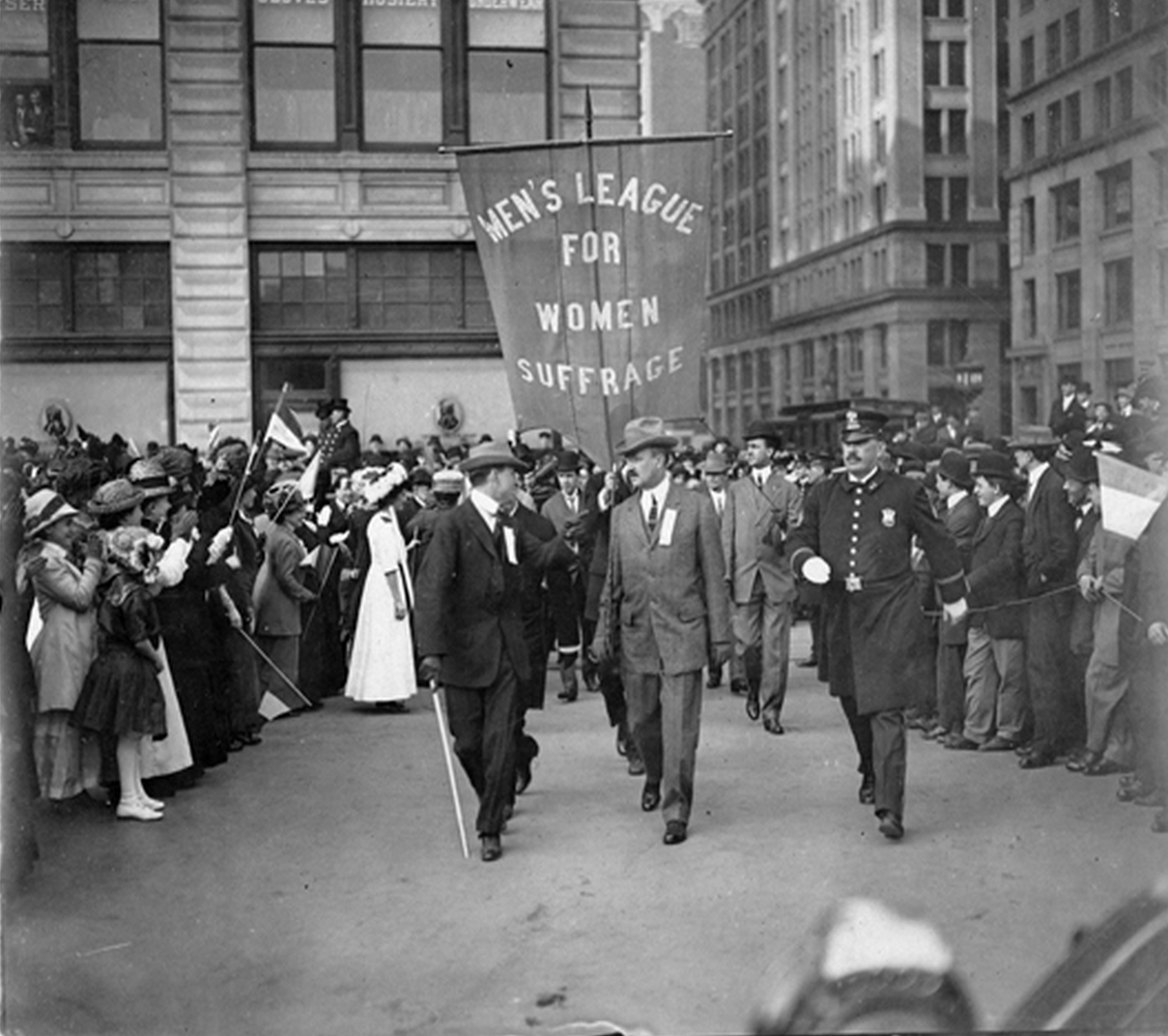 Suffrage supporters