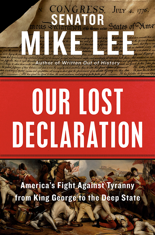 Book cover: Our lost Declaration