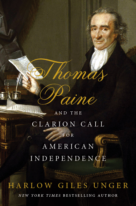 Book cover of Thomas Paine biography