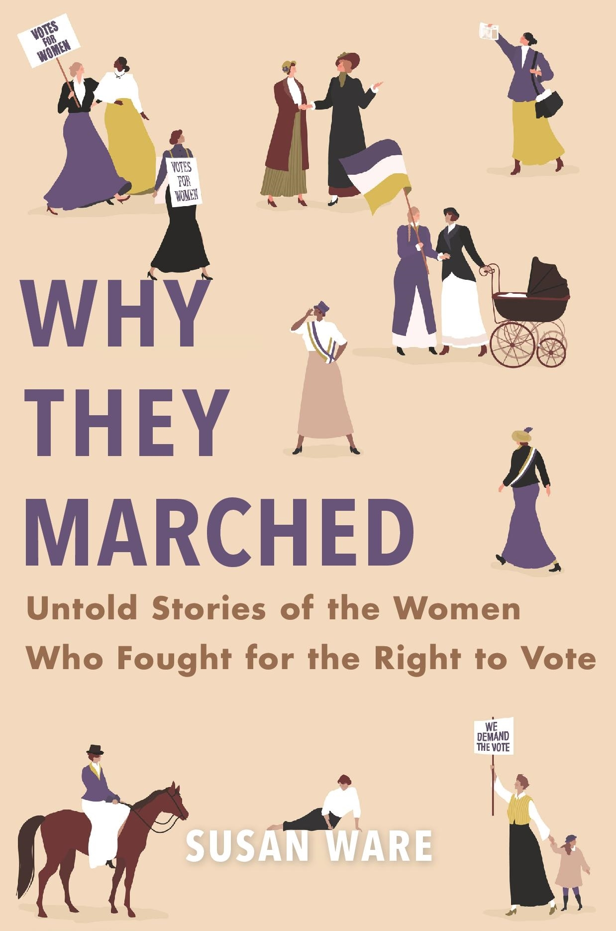 book cover of Why They Marched