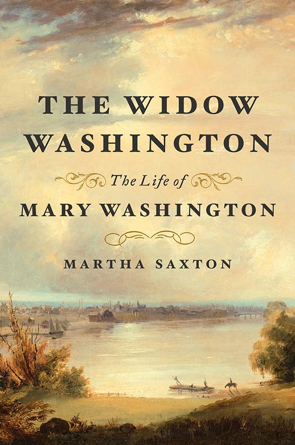 Book cover: The Widow Washington