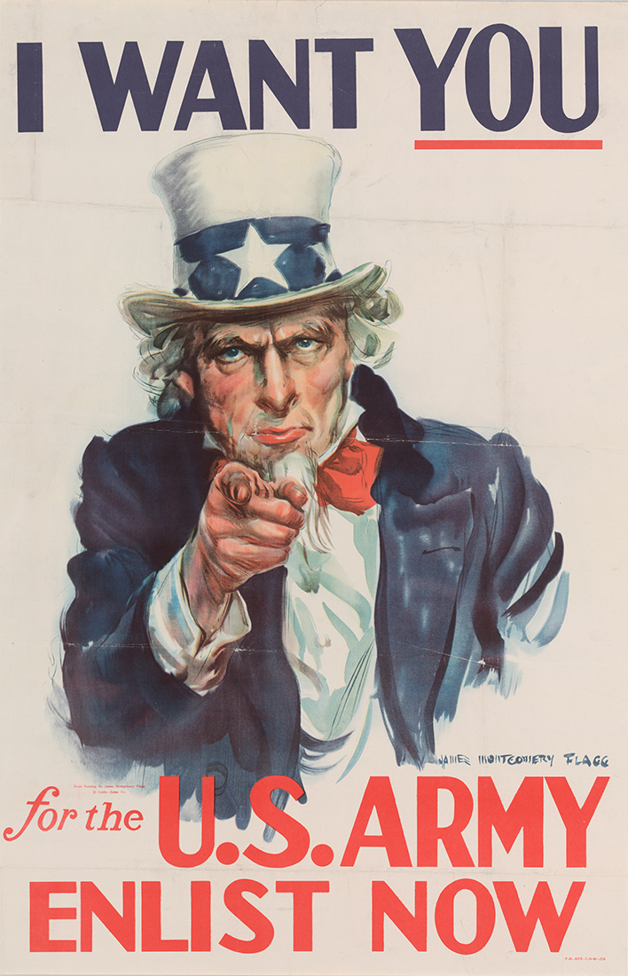 army recruiting poster
