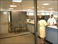 Office of the Federal Register