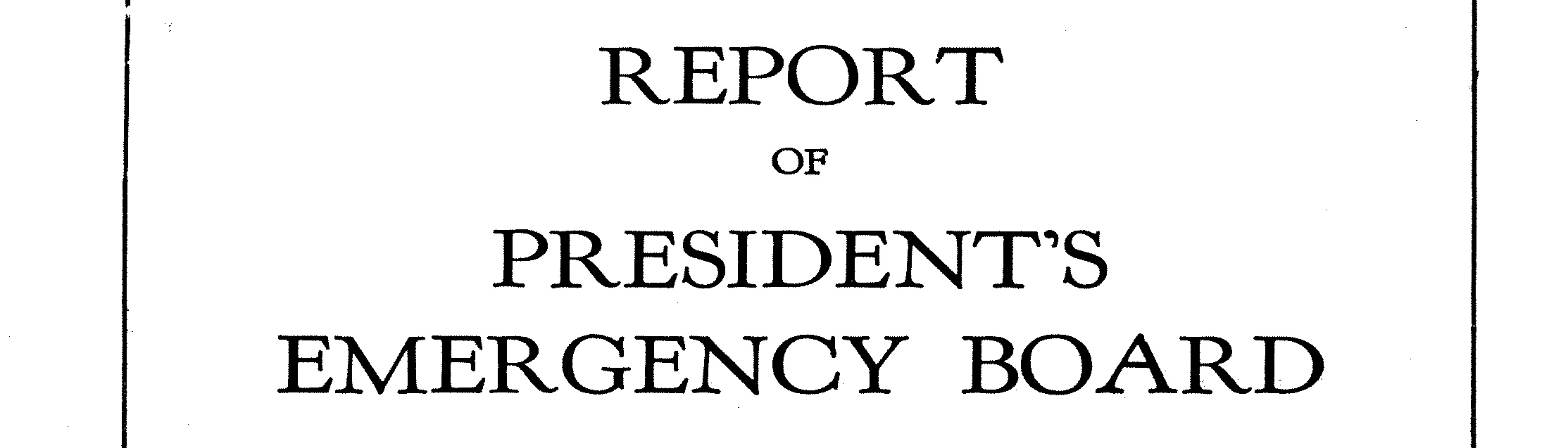 Records of the National Mediation Board