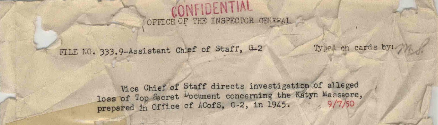 Records of the Office of the Inspector General (Army)