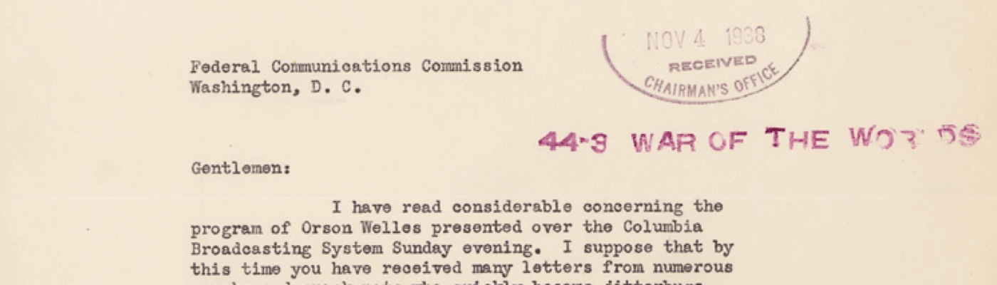 Records of the Federal Communications Commission
