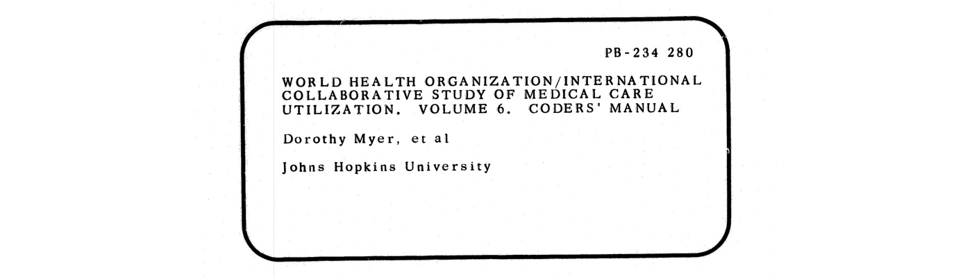 Records of the Agency for Health Care Policy and Research