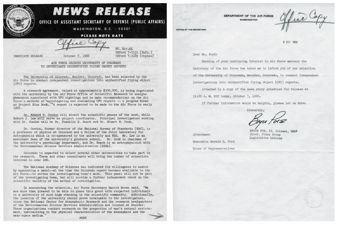 Do Records Show Proof of UFOs? | National Archives
