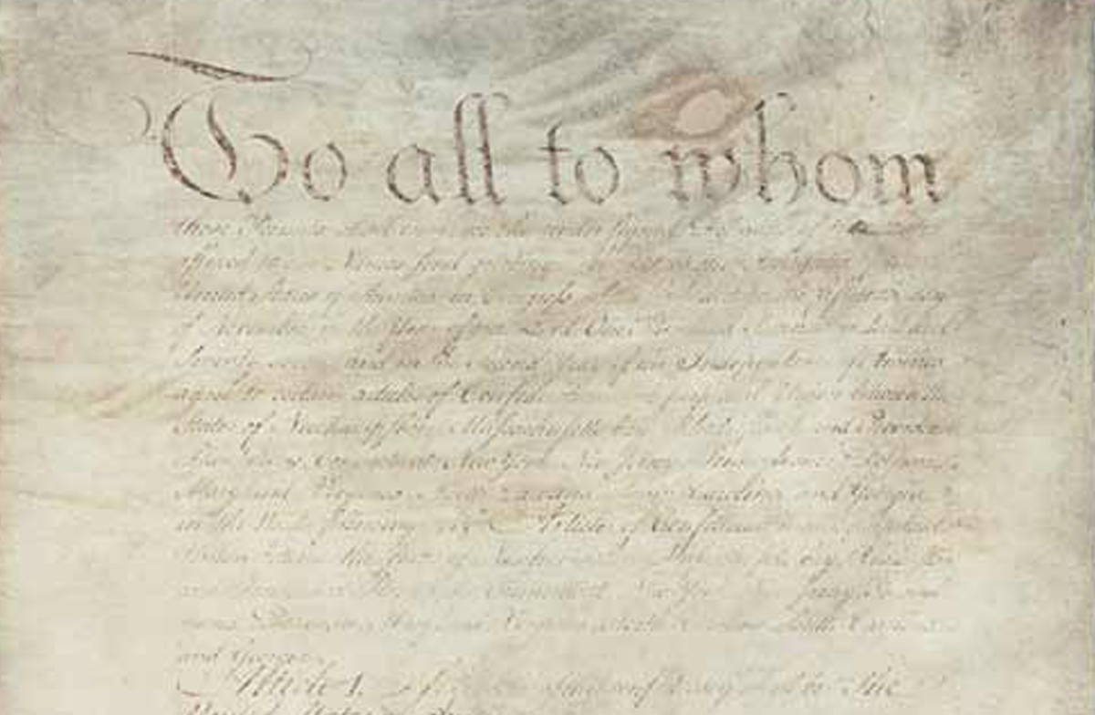 The Constitution: How Did it Happen? | National Archives