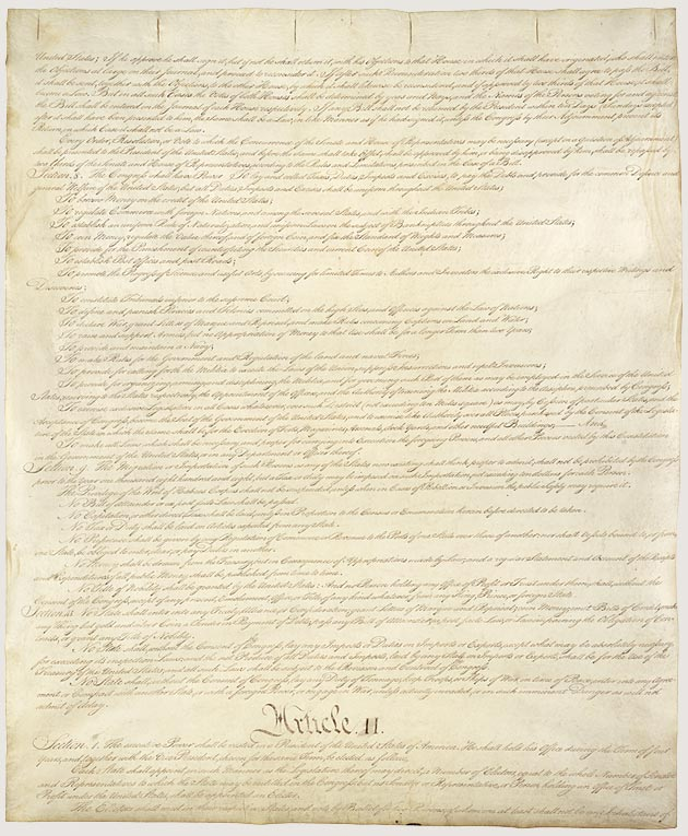 The Constitution Page 2