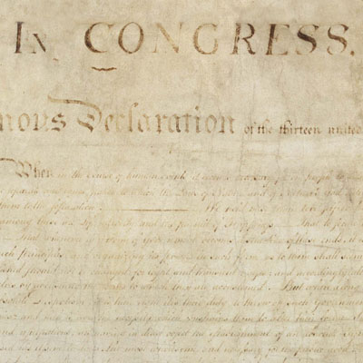 Americas Founding Documents  National Archives Declaration Of Independence