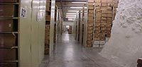 stacks of Lee's Summit Federal Records Center
