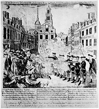 The bloody massacre perpetrated in King Street, Boston, on Mar. 5, 1770