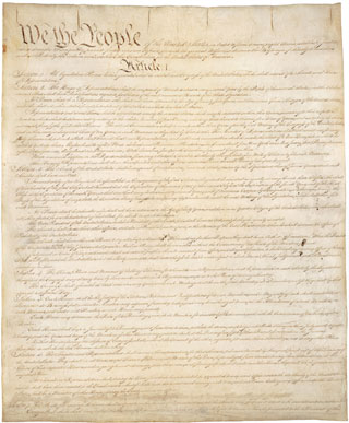 constitution of the us