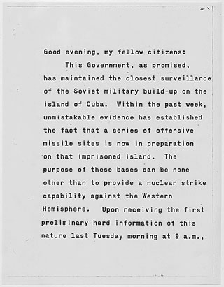 jfk cuban misssile crisis essay Cuban missile crisis president john f kennedy continue for 7 more pages » • join now to read essay cuban missile crisis and other term papers or.