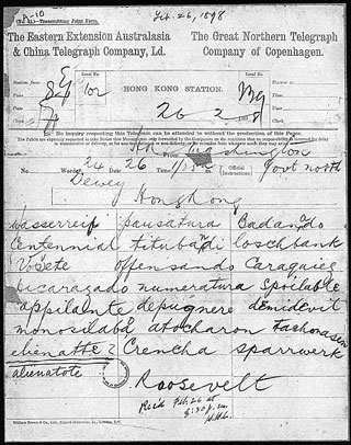 theodore roosevelt papers
