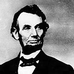 Abraham Lincoln portrait photograph