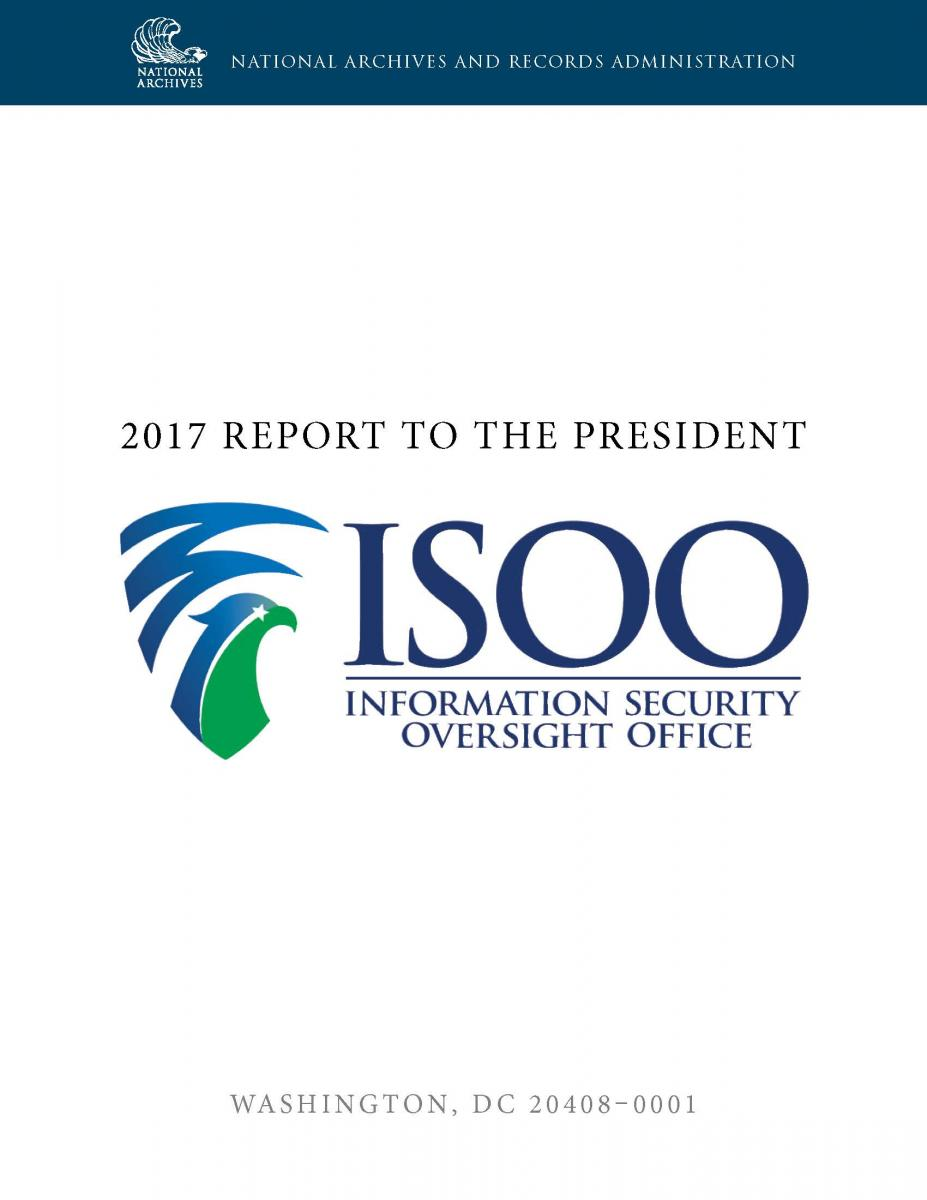 2017 ISOO Annual Report