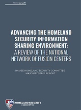 Homeland Security Committee report-on-fusion-centers-2017
