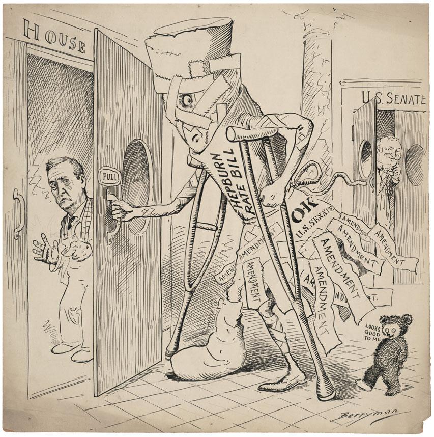 Political cartoon by Berryman